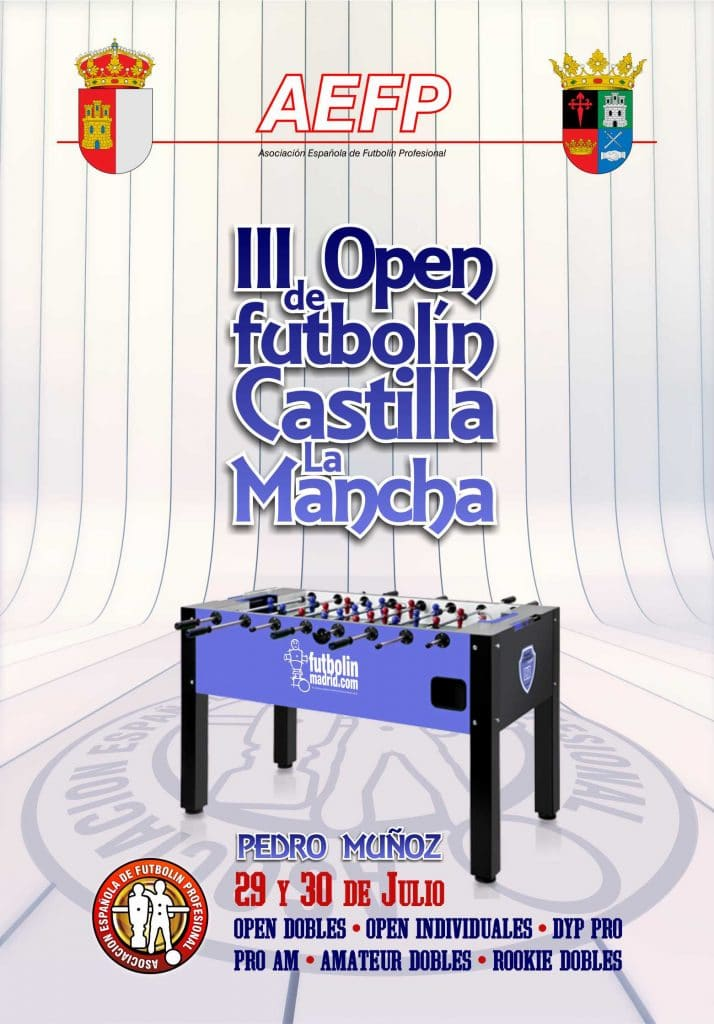 III Open futbolín Castilla La Mancha