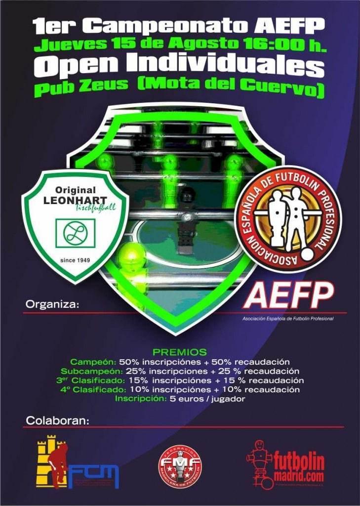primer campeonato aefp
