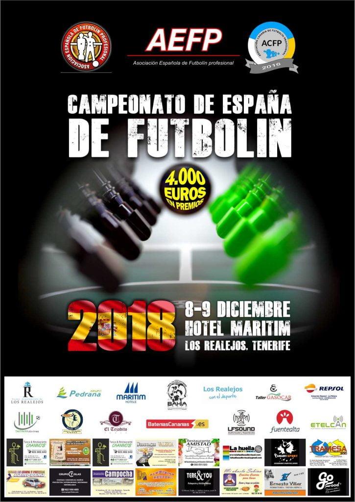 campeonato de España de Futbolín 2018