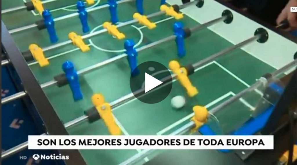 futbolín Antena 3